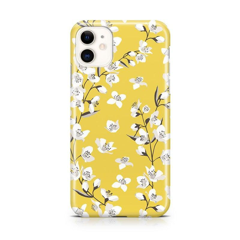 Yellow Flower Power Floral Case iPhone Case Get.Casely Classic iPhone 11