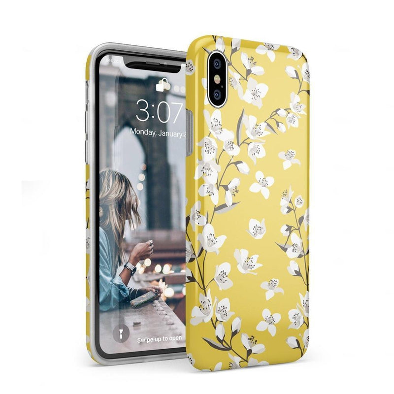 Yellow Flower Power Floral Case iPhone Case Get.Casely Classic iPhone XS Max