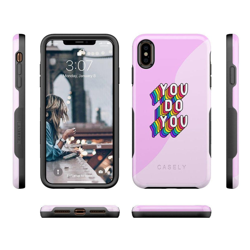 You Do You Bubble Gum Pink Case iPhone Case Get.Casely