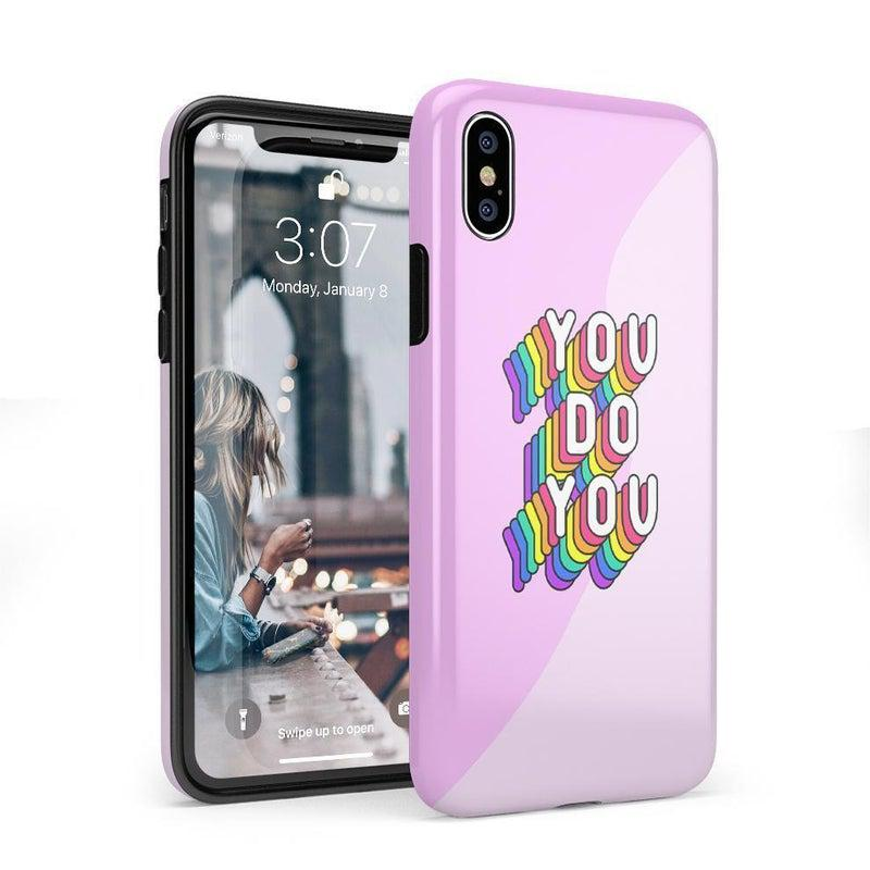 You Do You Bubble Gum Pink Case iPhone Case Get.Casely Classic iPhone X / XS
