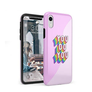 You Do You Bubble Gum Pink Case iPhone Case Get.Casely Classic iPhone XR