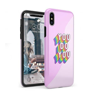 You Do You Bubble Gum Pink Case iPhone Case Get.Casely Classic iPhone XS Max
