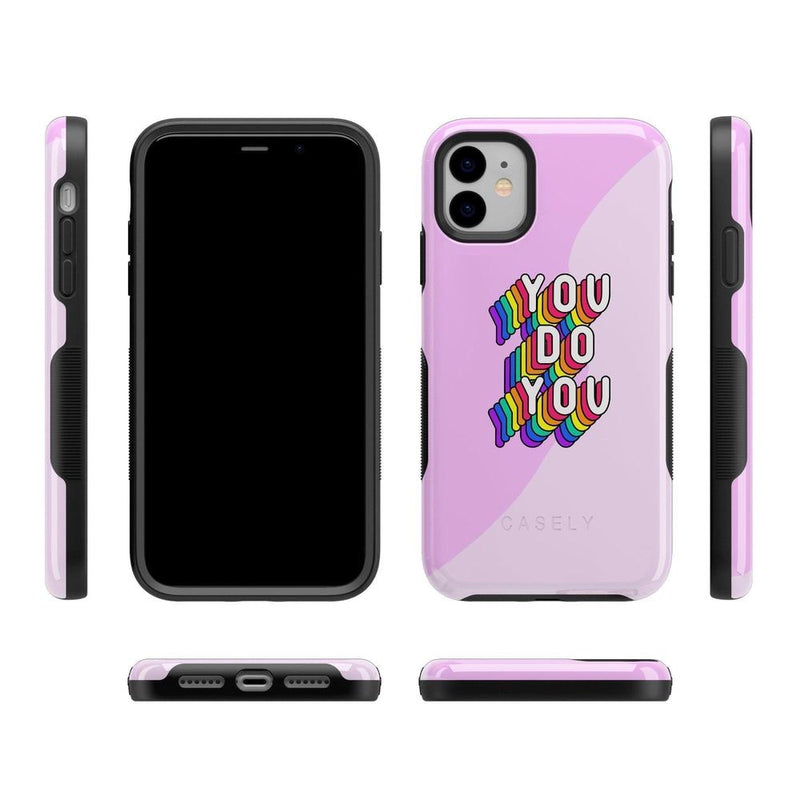 YOU DO YOU Print iPhone Case iPhone Case Get.Casely
