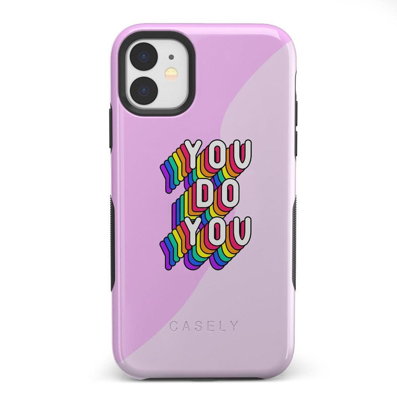 YOU DO YOU Print iPhone Case iPhone Case Get.Casely Bold iPhone 11