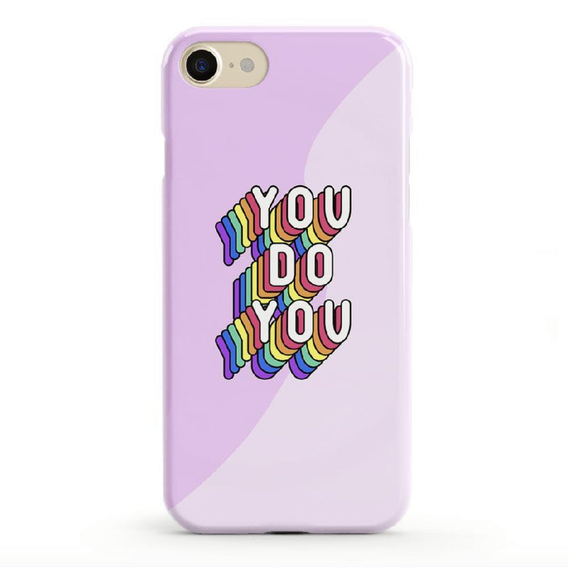 YOU DO YOU Print iPhone Case iPhone Case get.casely Classic iPhone 8