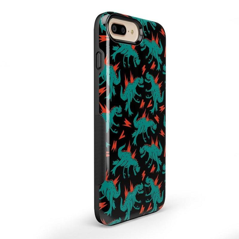You're Dino-mite | Green Dinosaur Case iPhone Case get.casely