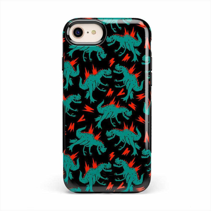 You're Dino-mite | Green Dinosaur Case iPhone Case get.casely Bold iPhone SE (2020)