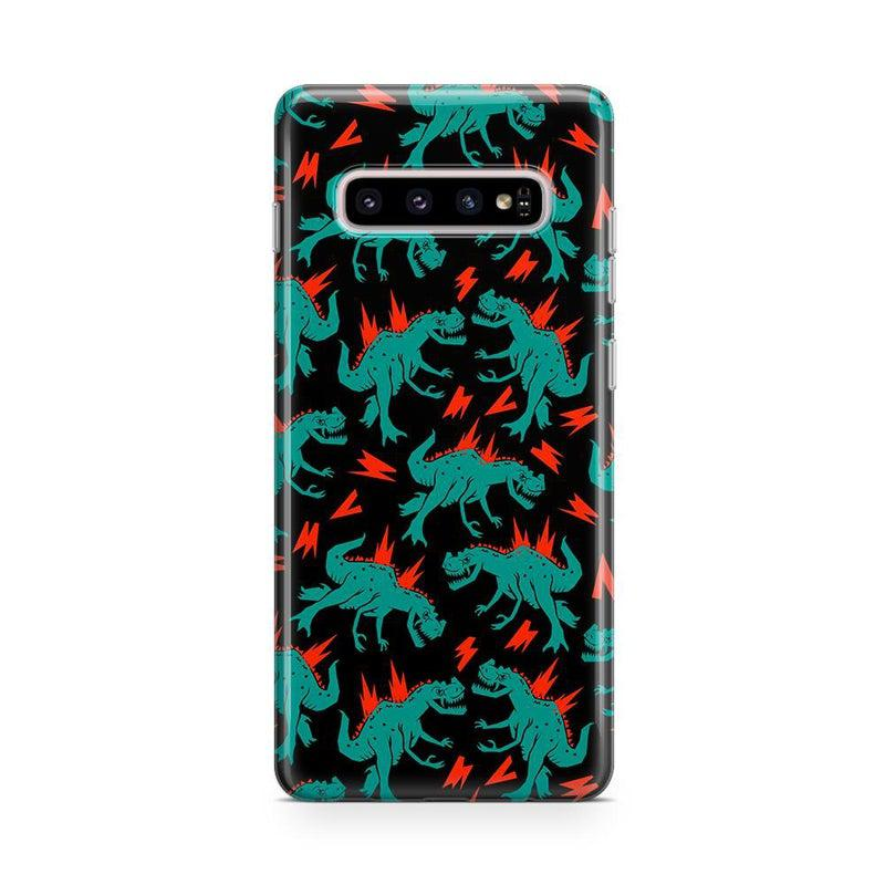 You're Dino-mite | Green Dinosaur Case iPhone Case get.casely Classic Galaxy S10
