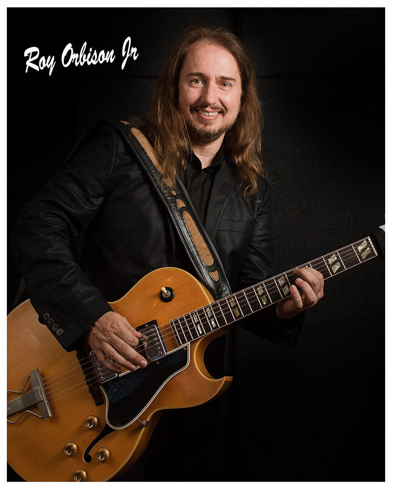 SIGNED ROY ORBISON JR COLOR HEADSHOT