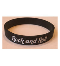 ROY ORBISON JR LOGO WRISTBAND - BLACK