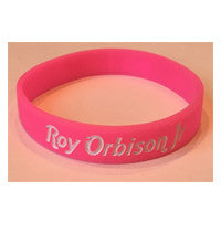 ROY ORBISON JR LOGO WRISTBAND - PINK
