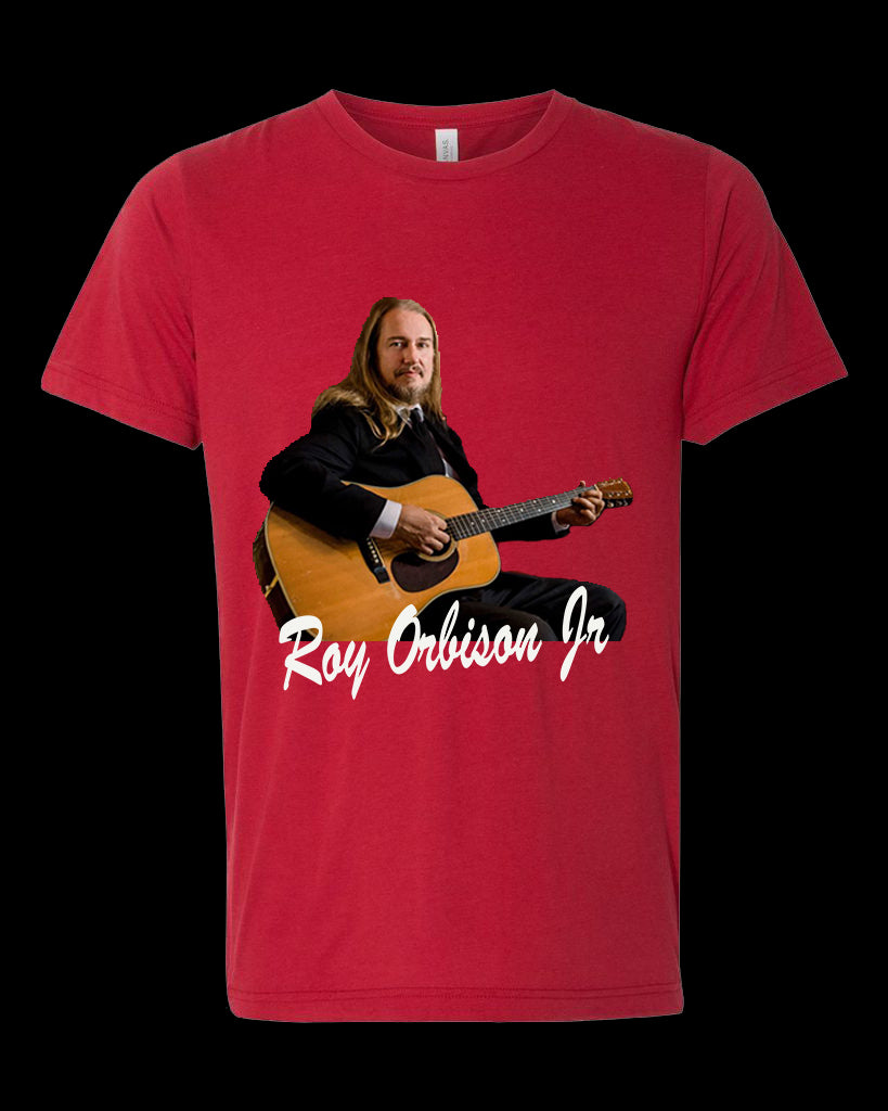 ROY ORBISON JR GUITAR MEN's T-SHIRT