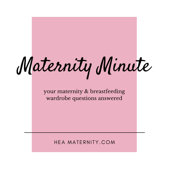 The Maternity Minute: What to Wear in Your Fourth Trimester