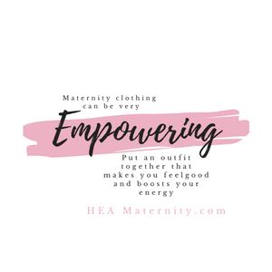 Maternity Clothing Can be Very Empowering!