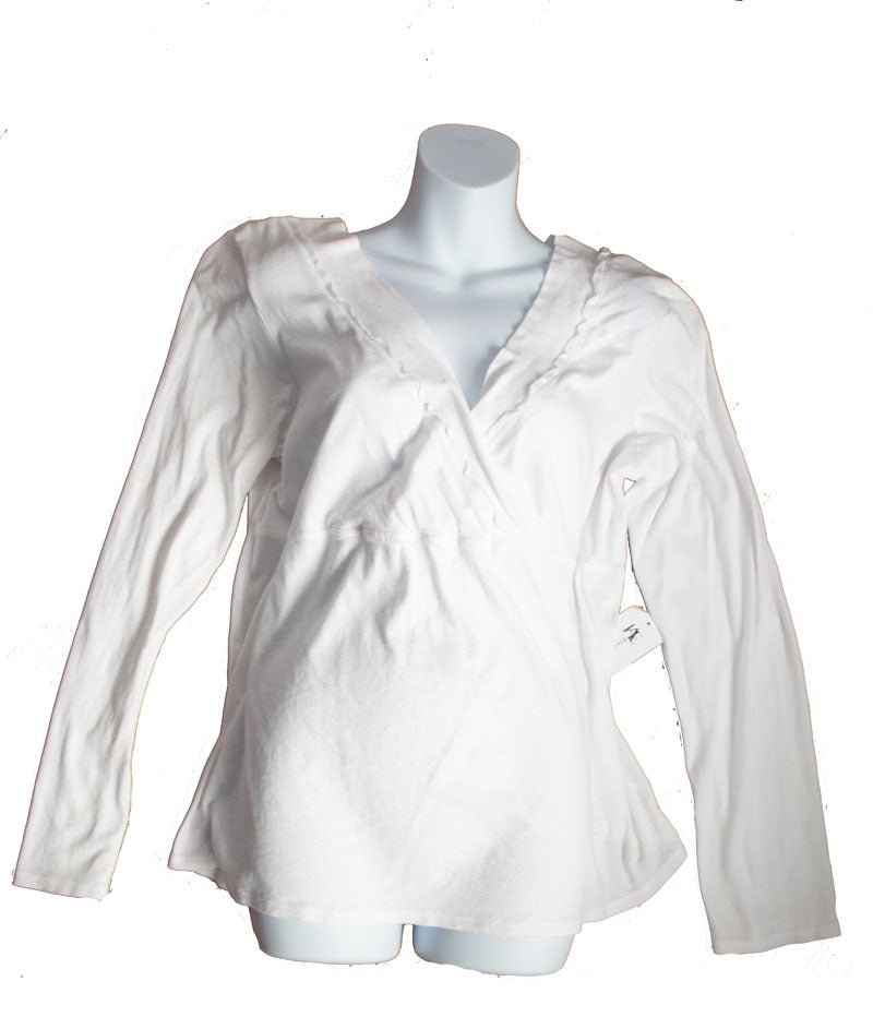 5c0a426fe1f85 XXL Old Navy Maternity Long Sleeve Nursing Top – Happily Ever After ...