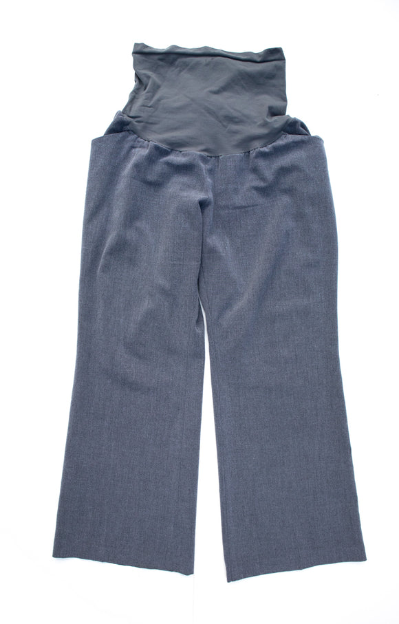 PXL Motherhood Maternity Grey Dress Pants 30