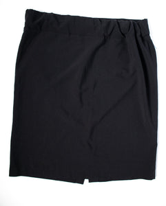L Tomorrows Mother Maternity Knee Length Black Skirt