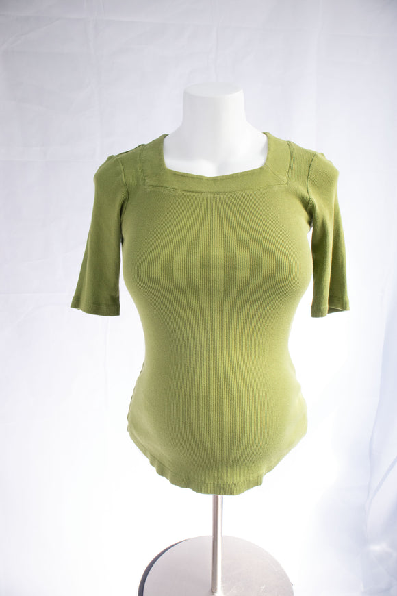S Thyme Maternity Elbow Sleeve Top
