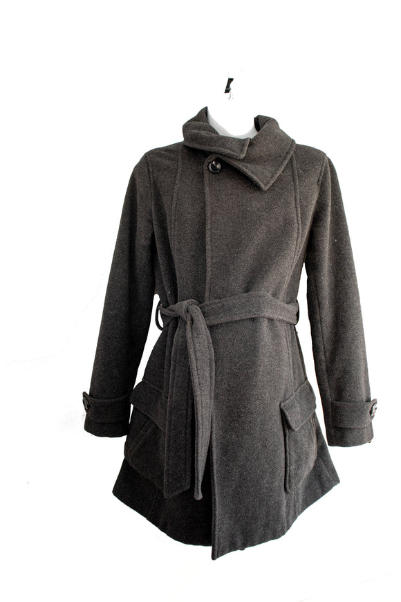 XS Thyme Maternity Winter Peacoat