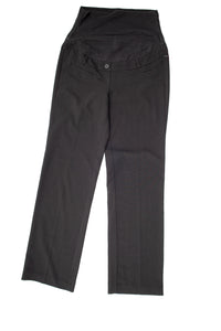 "XS Thyme Maternity Dress Pants 31.5"" inseam 2 colours Black & grey"