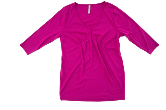 XL Thyme Maternity 3/4 Sleeve Top
