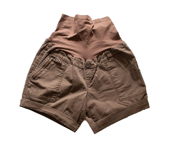 M Thyme  Maternity Brown  Shorts