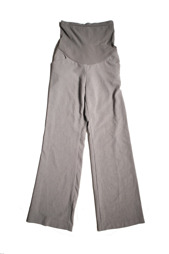XS Motherhood Maternity Grey Dress Pant 31.5