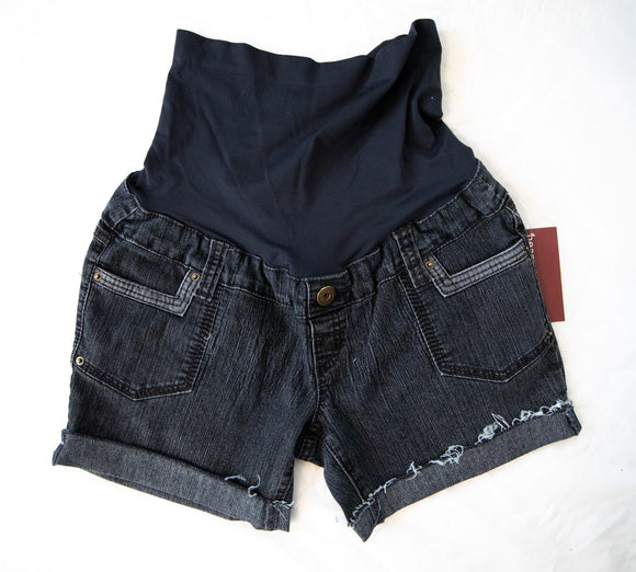 M Thyme Matenrity Cut-Off Denim Shorts