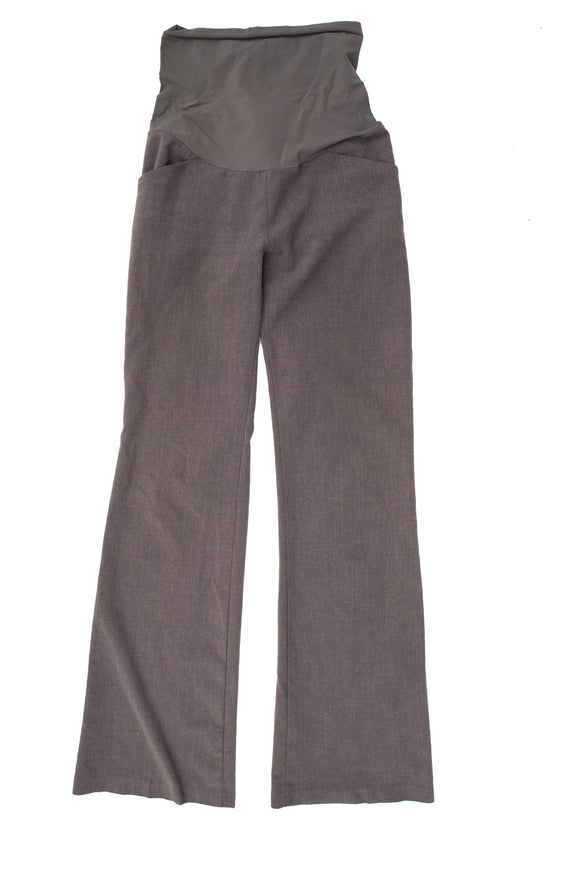 XS  Motherhood Maternity Grey Dress Pant 34