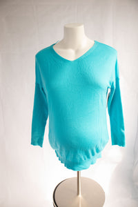 L Thyme Maternity Light Sweater