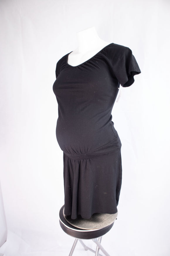 XS Old Navy Maternity Dress In Black