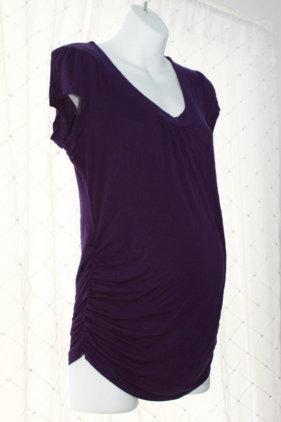 M Thyme Maternity Short Sleeve Top