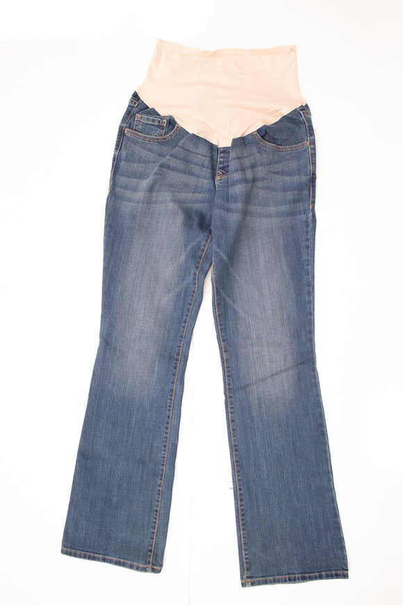 M Old Navy Maternity Bootcut Jeans 34