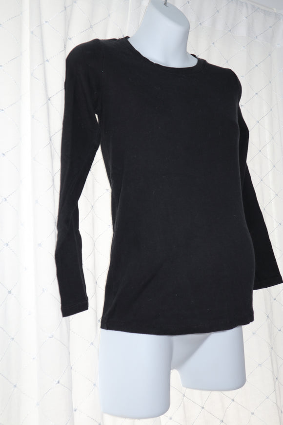 S Motherhood Maternity Long Sleeve Top In Black