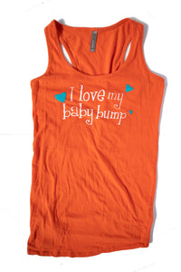 S Thyme Maternity Tank Top Orange