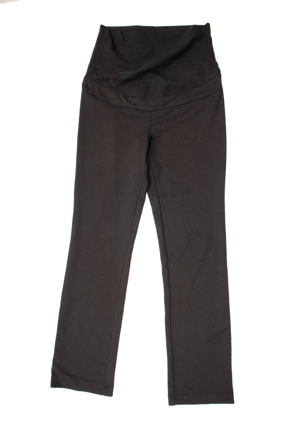 XS Thyme Maternity Black Dress Pant 32