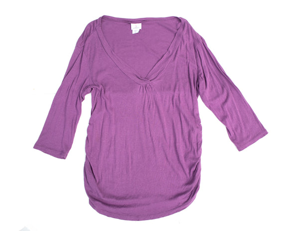 XL Oh Baby By Motherhood Maternity 3/4 Sleeve Top