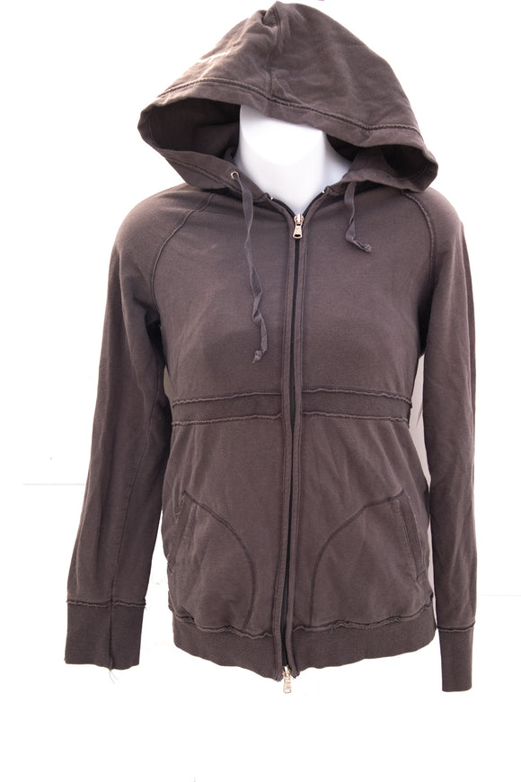 XS Thyme Maternity Zip Up Hoodie