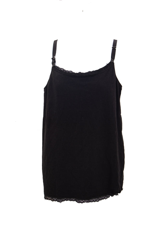 XL Medela Nursing Tank in Black