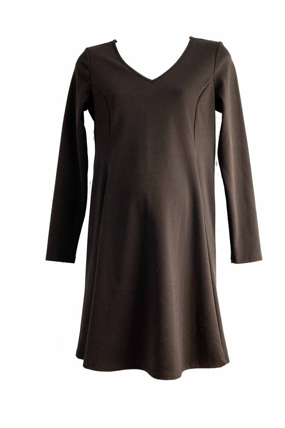M Old Navy Maternity Bump Skimming Long Sleeve Dress
