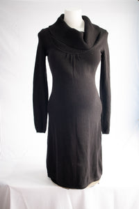 S Thyme Maternity Cowl Neck Sweater Dress