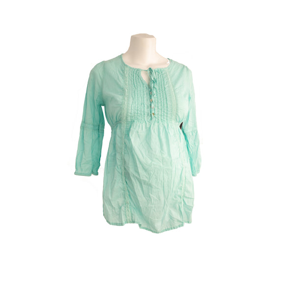 S H&M Mama maternity Blouse in Aqua