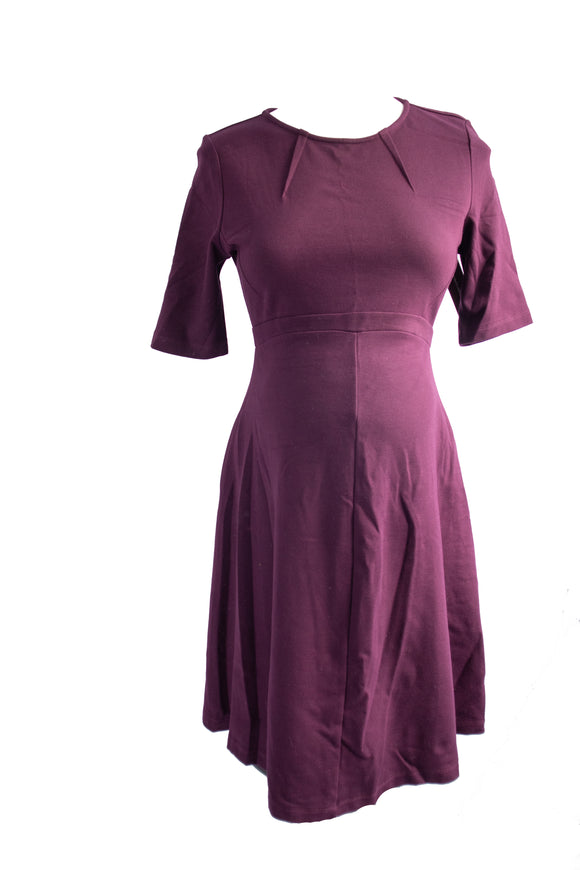 XS Isabelle & Oliver Shift Dress in Plum Size 3