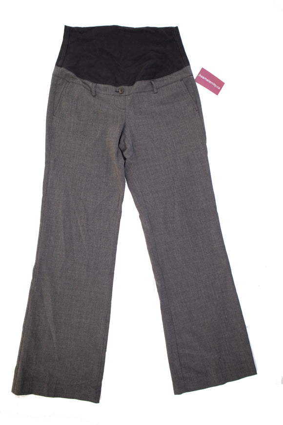 S Thyme Maternity Grey Dress Pant 32
