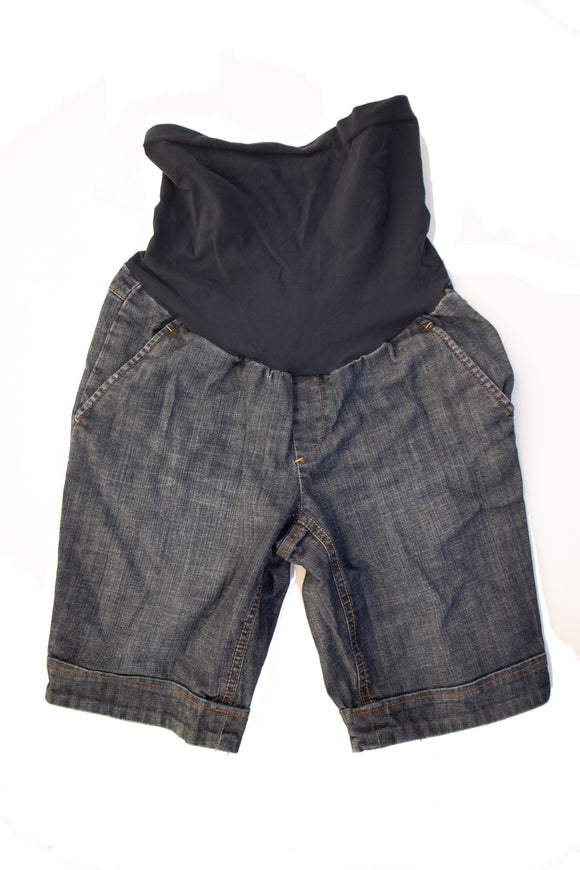 S American Star maternity Denim Bermuda Shorts