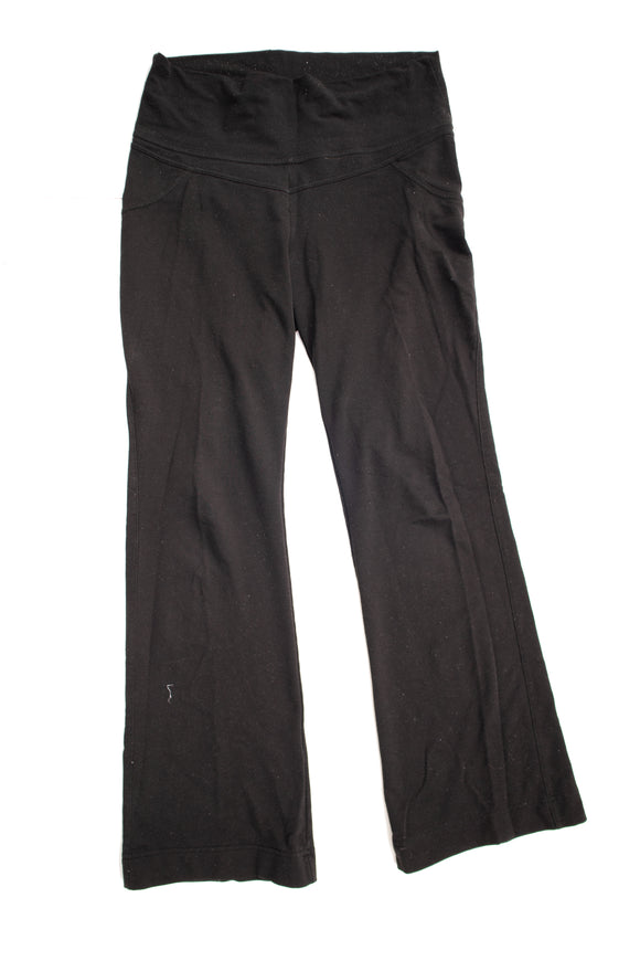 S Thyme Maternity Jogging Pants in Black BROKEN IN