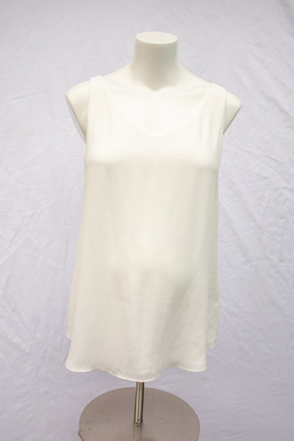 M Thyme Maternity Blouse in White New with Tags