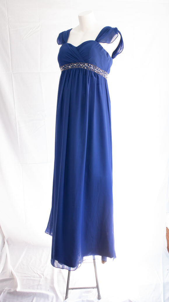 Empire Waist Maternity Gown in Size 12