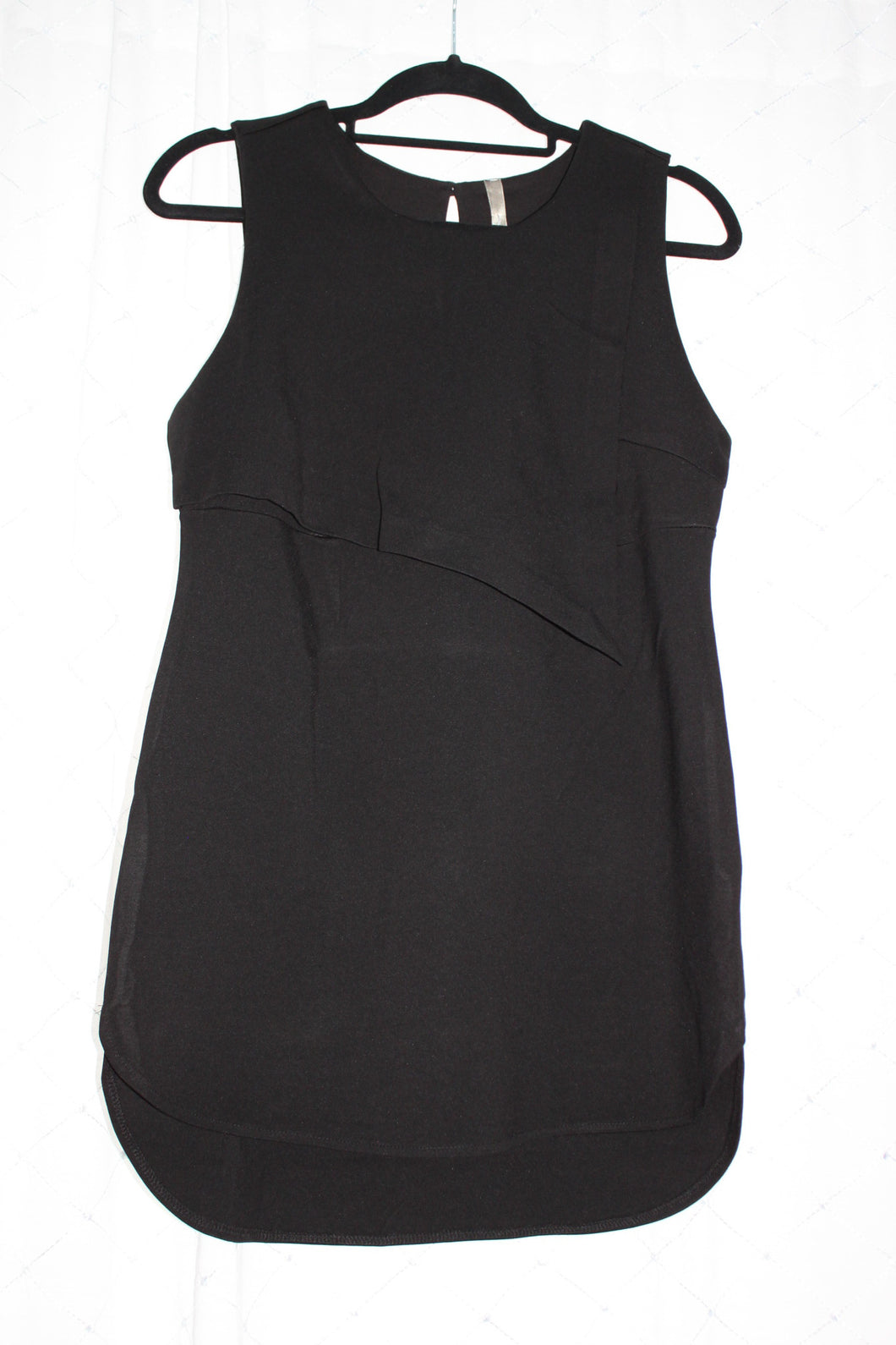 fe7c0a79c5a M Thyme Maternity Sleeveless black Top New – Happily Ever After ...