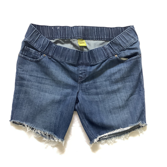 L Old Navy Maternity Cut-Off Jean Shorts Size 14
